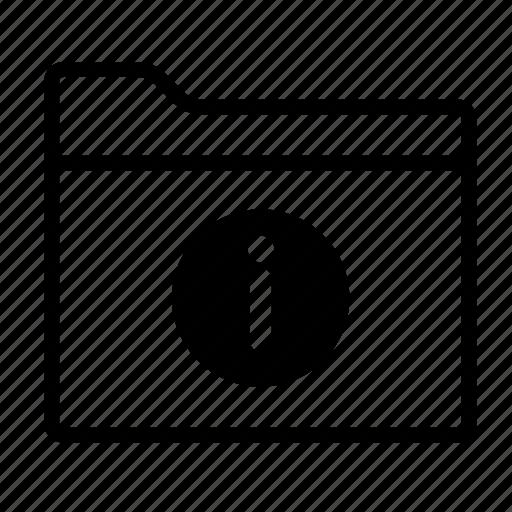 documents, file, folder, folder information, folders, information, information folder icon