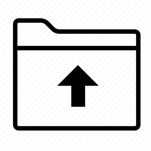 folder, folder upload, folders, up, upload, upload folder, uploading icon