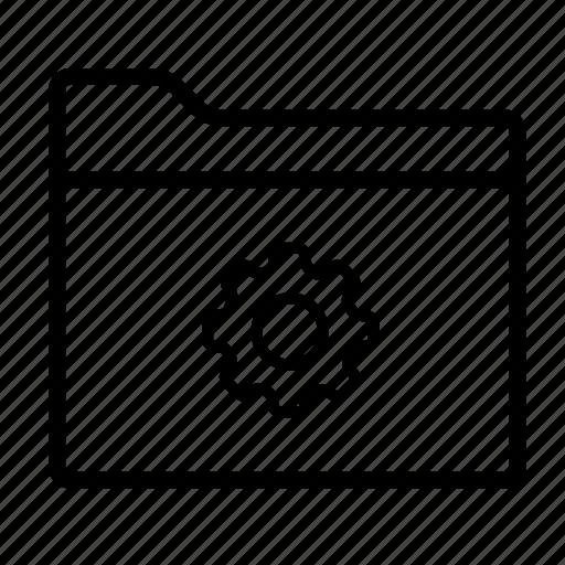 configuration, folder, folder settings, folders, setting, settings, settings folder icon