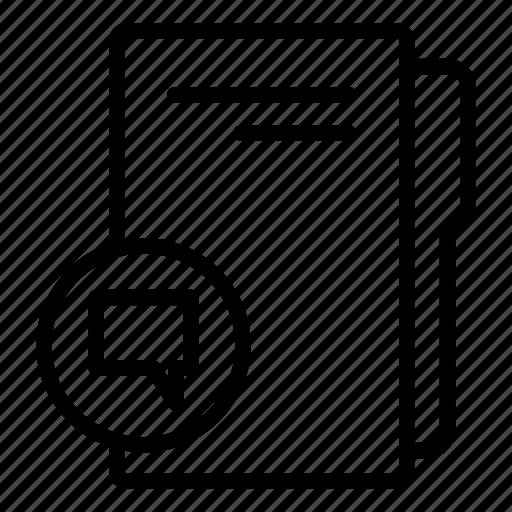 chat folder, computer folder, data folder, folder, folder storage, messenger folder icon