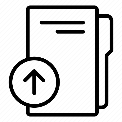 computer folder, data folder, folder, folder storage, upload folder, upload folder data icon