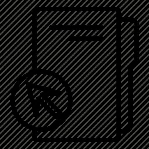 click on folder, computer folder, cursor, data folder, folder, folder storage icon