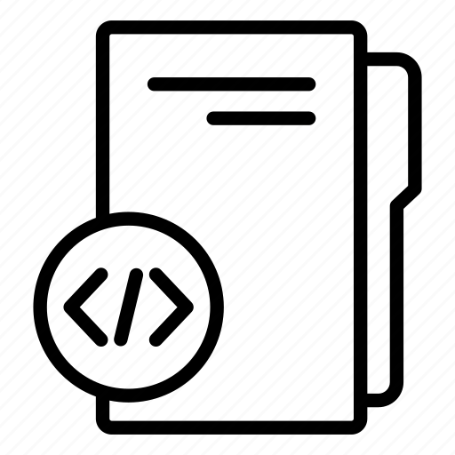 coding folder, computer folder, data folder, folder, folder storage, software folder icon