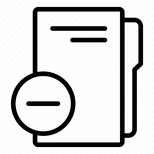 computer folder, data folder, folder, folder storage, remove folder, remove folder name icon