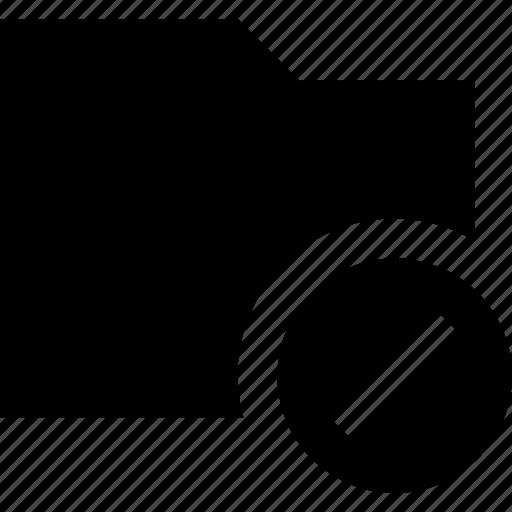 ban, data, document, file, folder icon