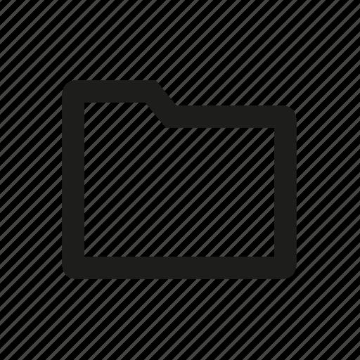 computer folder, files, folder, paper folder icon