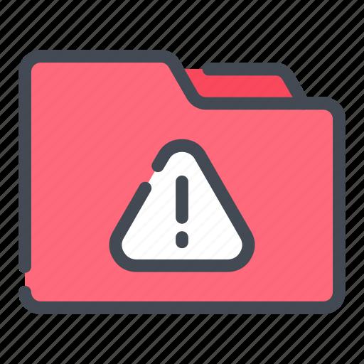 archive, document, error, file, folder, mistake, problem icon