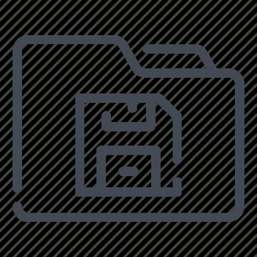 data, document, file, folder, save icon
