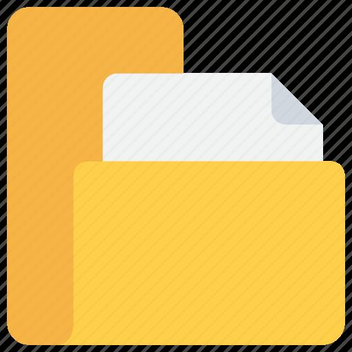 business, data, document, file, folder icon