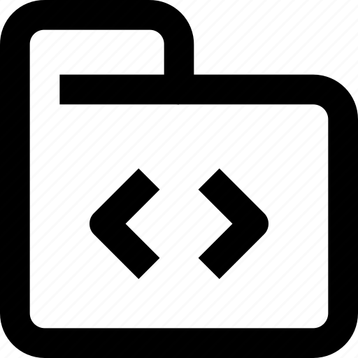 code, coding, development, document, folder, programming icon