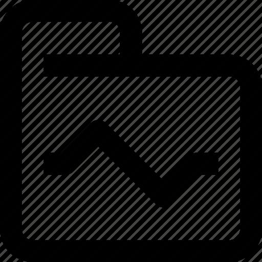 data, document, file, folder, graph, report icon