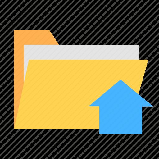 folder, home, ui, ux icon