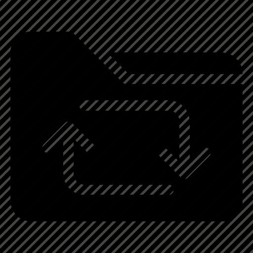 Archive, file, folder, format, refresh, reload icon - Download on Iconfinder