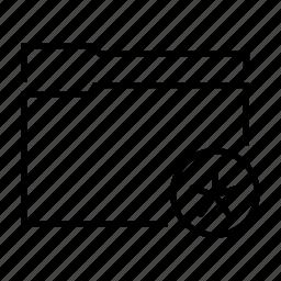asterisk, document, favourite, file, folder icon