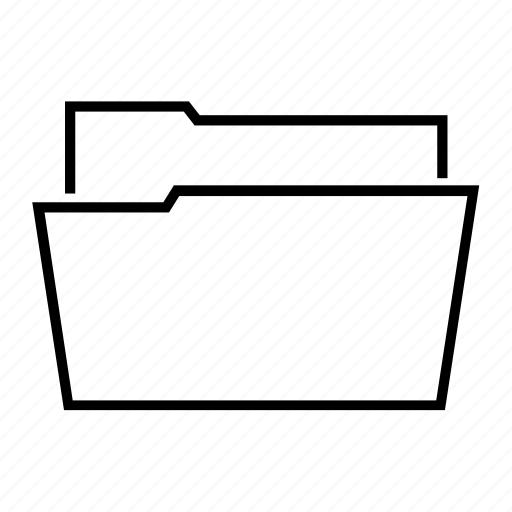 data, documents, file, folder, opened icon