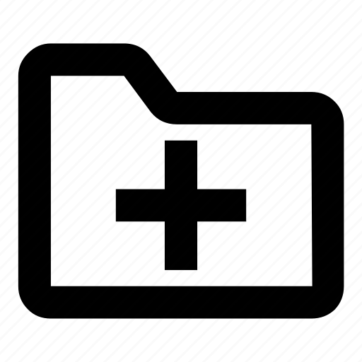 add folder, data, directory, document, file, folder, new folder icon
