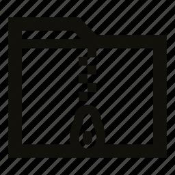 archive, archive folder, compressed, compressed folder, folder, zip, zip folder icon