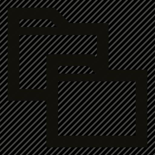 copy folder, directories, duplicate, file explorer, folder, folders, ui icon