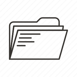 directory, document, documents, file, files, folder icon