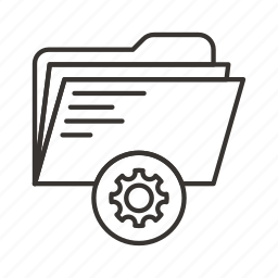 directory, document, documents, file, files, folder, settings icon