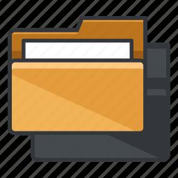 copy, duplicate, file, folder, folders icon