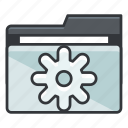 file, folder, folders, options, preferences, settings icon