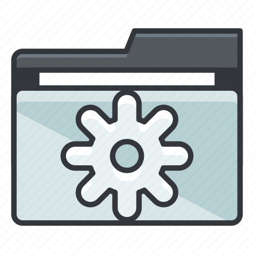file, folder, folders, options, preferences, settings icon