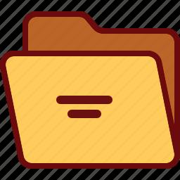 directory, folder, office, open icon