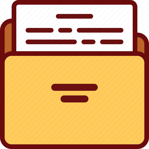 directory, doc, document, file, folder, letter, office icon
