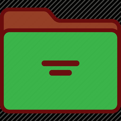 directory, folder, gren, office, system icon