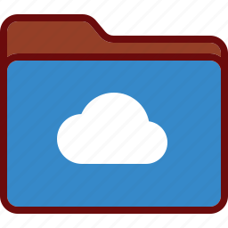 cloud, directory, folder, office, share, storage icon