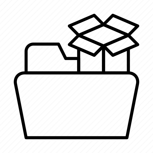 cloud, document, documents, dropbox, file, files, folder icon