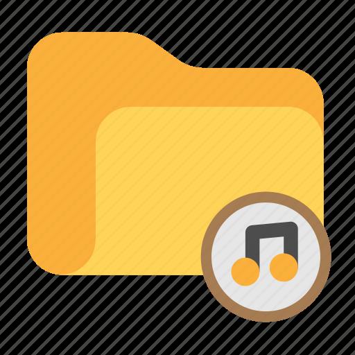 audio, catalog, catalogue, directory, folder, mp3, music icon