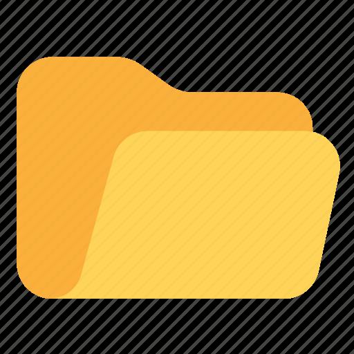 catalog, catalogue, directory, folder, open, opened, opened folder icon