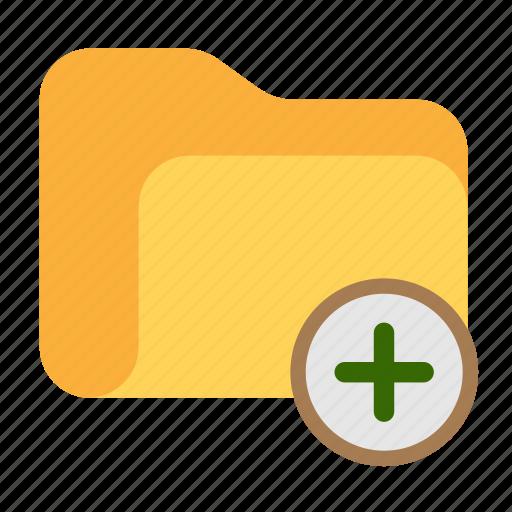 add, catalog, catalogue, directory, folder, new folder icon