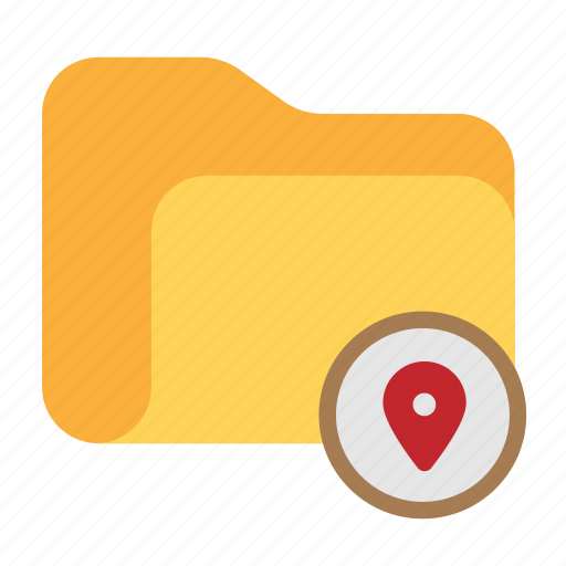 catalog, catalogue, directory, folder, location, map icon