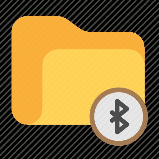 bluetooth, bt, catalog, catalogue, directory, folder icon