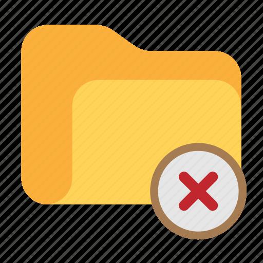 clear, delete, directory, erase, folder icon