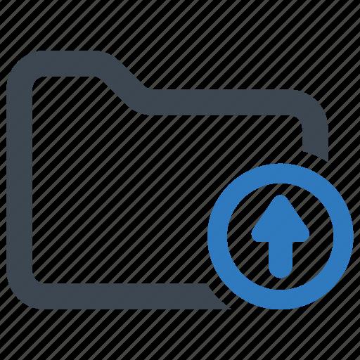 file, folder, upload icon