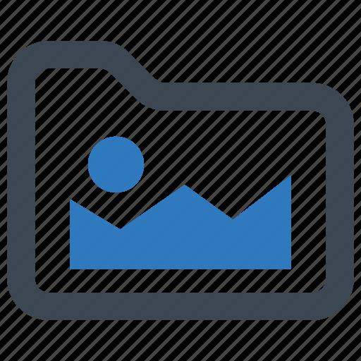 folder, image, picture icon