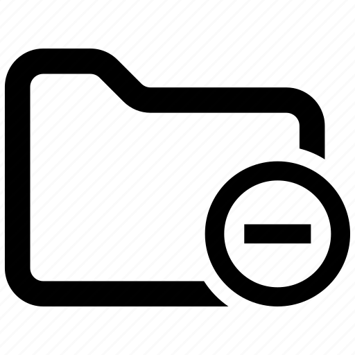 Delete, folder, remove icon - Download on Iconfinder