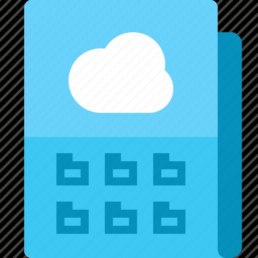Backup, cloud, document, file, folder, storage icon - Download on Iconfinder