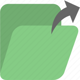 documents, folder, folders, open icon