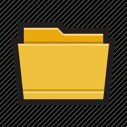 binder, directory, document, file, folder, portfolio icon