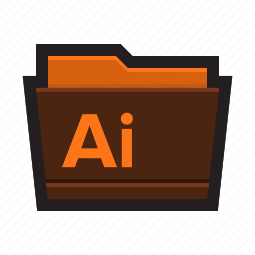 adobe, drawings, folder, graphics, illustrations, illustrator icon