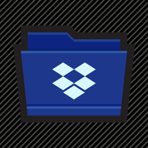 backup, cloud, dropbox, folder, upload icon