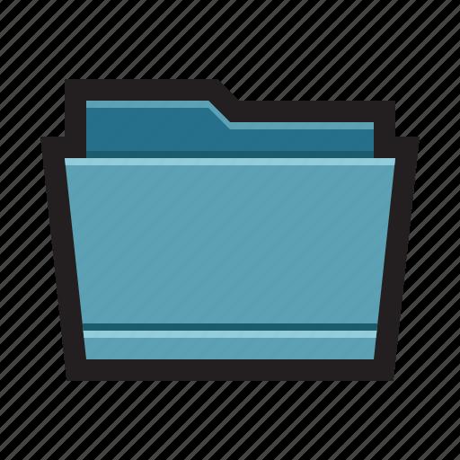 binder, directory, folder, library, mac icon