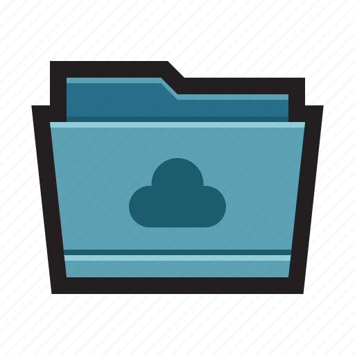 backup, cloud, folder, mac, upload icon