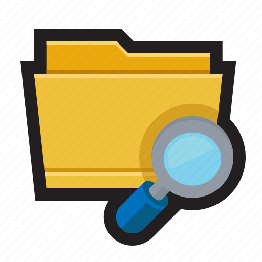 directory, find, folder, look, search icon