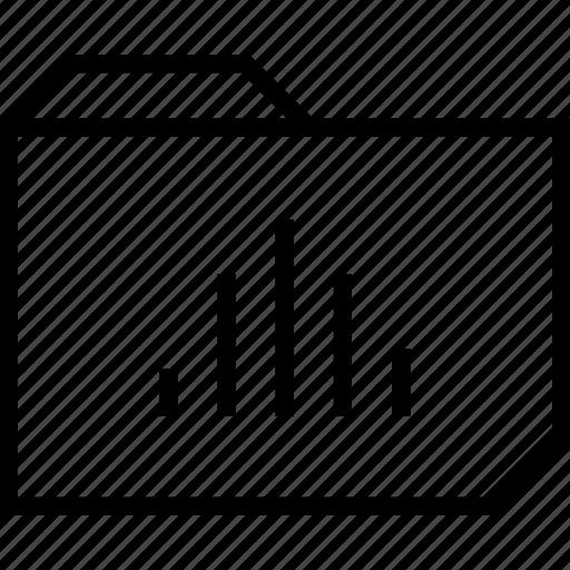 data, folder, graphic icon